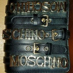 Moschino handbag shoulder strap bag small